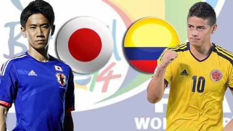 Japón contra Colombia