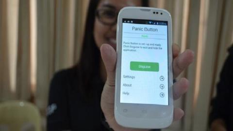 aplicación de botón del pánico