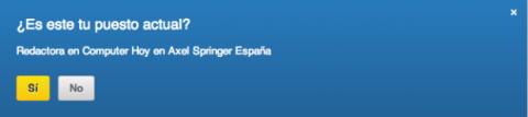 Completar perfil en LinkedIn