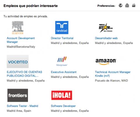 Empleos que podrían interesarte LinkedIn