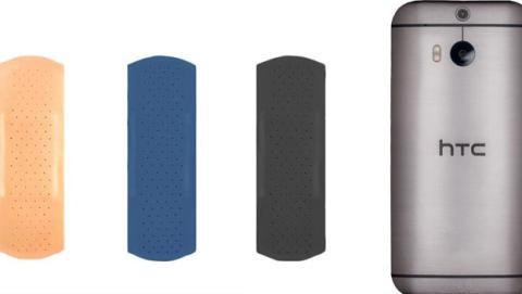 HTC se ríe del Samsung Galaxy S5 comparándolo con una tirita