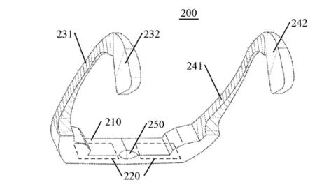 Gafas patentadas por Lenovo