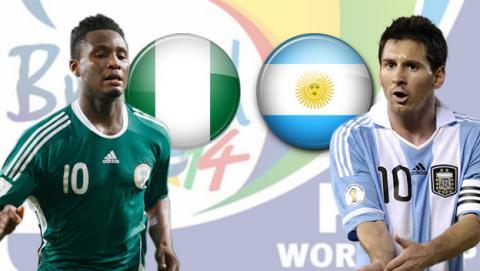 Nigeria contra Argentina