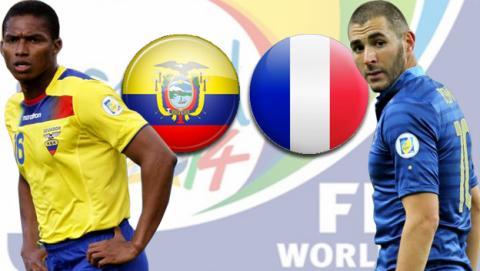 Ecuador - Francia
