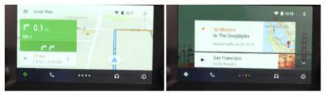 maps google auto