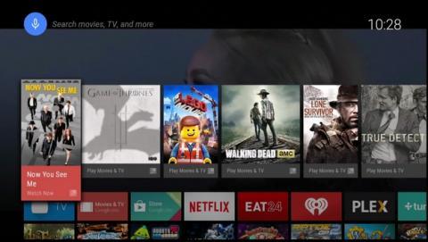 Android TV se presenta en Google I/O 2014, un nuevos sistema operativo para los televisores con el apoyo de Sony, LG, Sharp, y otras marcas. Tu móvil o smartwatch actuarán como mando a distancia.