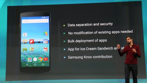 Google anuncia Android for Work