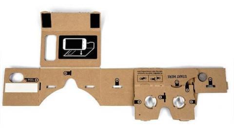Arma tus propias gafas de realidad virtual con Cardboard