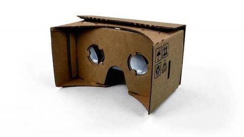Cardboard, gafas de RV improvisadas