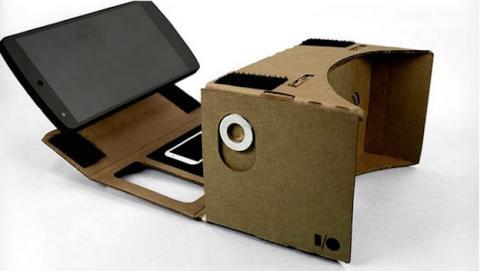 Cardboard, regalo inesperado en Google I/O 2014