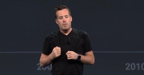 David Burke en Google I/O