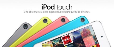 Nuevo iPod Touch 16 GB con cámara trasera
