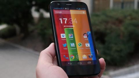 Moto G se actualizará a Android L
