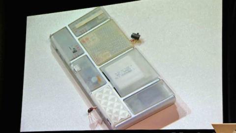 Prototipo funcional Project Ara (Foto: Mashable)