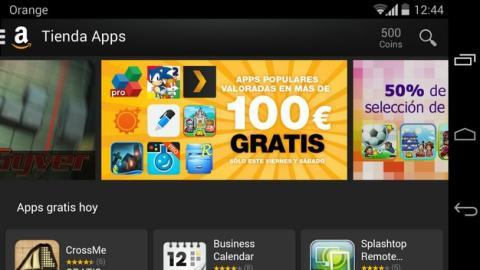 La Tienda Apps de Amazon regala apps de Android valoradas en 100 €, sólo durante dos días.