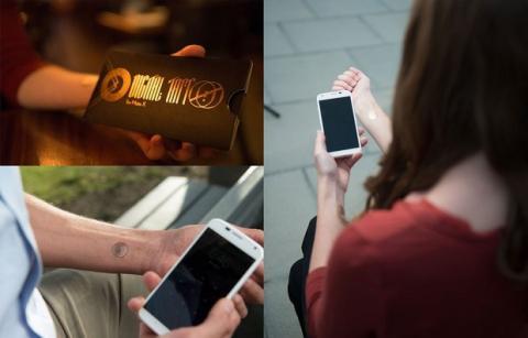 Digital Tattoo, tatuajes para desbloquear el smartphone