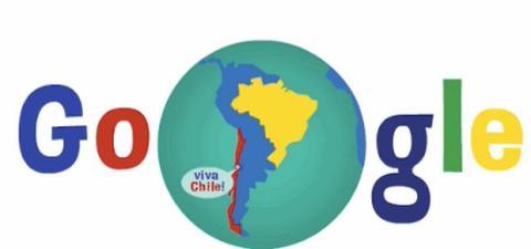 Doodle Chile Argentina Tierra de Fuego