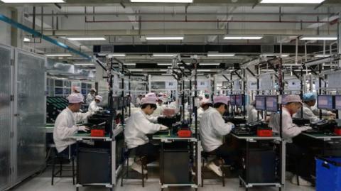 fábrica de alcatel en china
