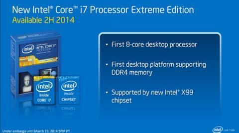 Nueva CPU de Intel con ocho núcleos