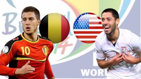 Bélgica - EEUU