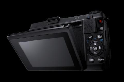 Canon PowerShot G1 X Mark II Pantalla