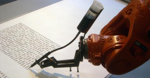 robots periodistas