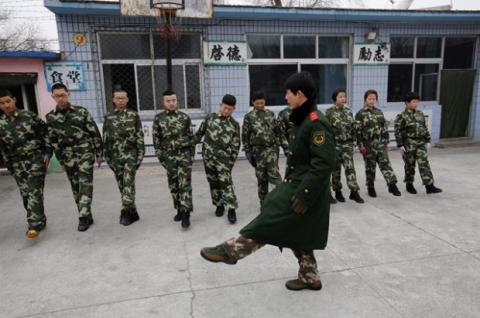 reclutamiento chino