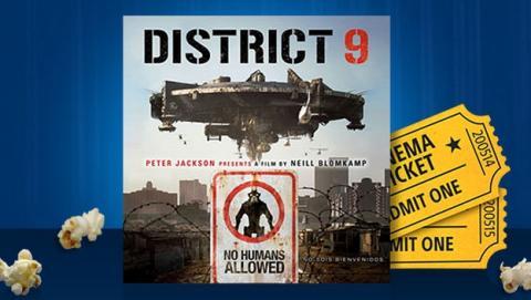 Sony ofrece la película District 9 gratis si realizas cualquier compra de películas o juegos en PlayStation Store.