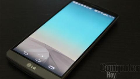 LG G3 pantalla y biseles