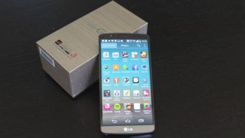LG G3 con caja