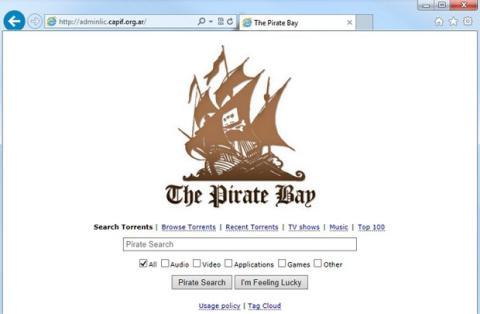 La web de la industria musical argentina, hackeada