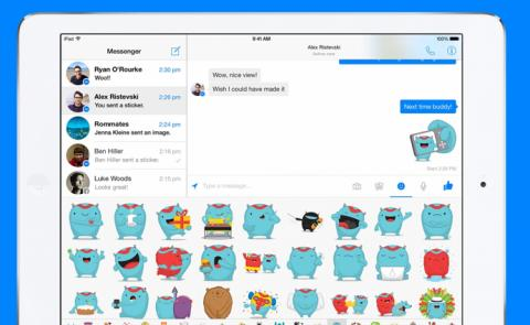 Facebook Messenger para el iPad