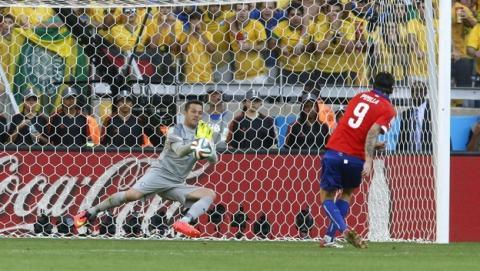 Durante el lanzamiento de los penaltis en el partido Brasil-Chile del Mundial de Fútbol, Twitter se paralizó.