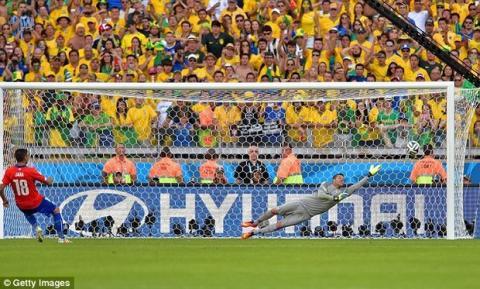 Twitter enmudece durante los penaltis del Mundial
