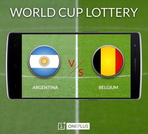 OnePlus One ofrece invitaciones para One Plus One con partidos del Mundial de Fütbol