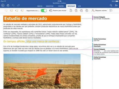 Office para tablets Android