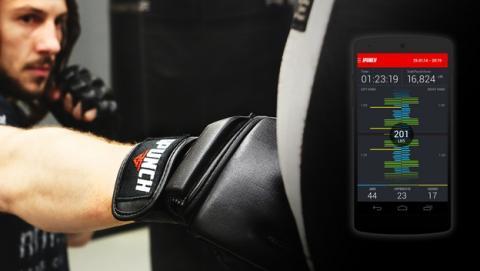 iPunch, los primeros guantes de boxeo inteligentes que miden cómo golpeas.