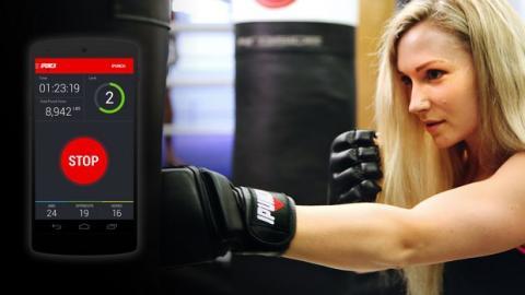 iPunch, los guantes de boxeo inteligentes