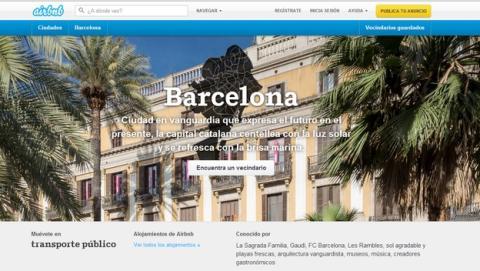 Airbnb, multada con 30.000€ por la Generalitat de Cataluña por ofrecer viviendas ilegales, al no estar en el Registro de Turismo de Cataluña.