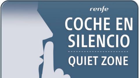 Los Coches en Silencio del AVE se estrenan hoy, por parte de Renfe. Unos vagones en donde no puedes hacer ruido ni usar el smartphone.