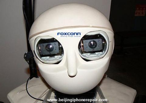 Robots de Foxconn para fabricar el iPhone 6