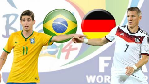 Brasil - Alemania