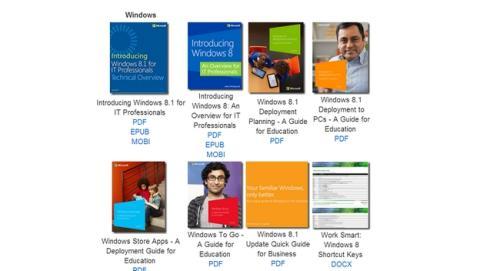 Microsoft regala 300 ebooks gratis sobre Windows, Office,SharePoint, SQL, Azure, etc.