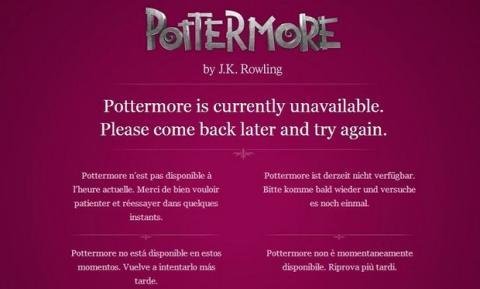 Nueva historia de Harry Potter
