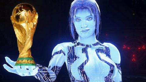 Cortana y Bing han predecido el 100% de los doce últimos resultados del Mundial de Fútbol Brasil 2014.
