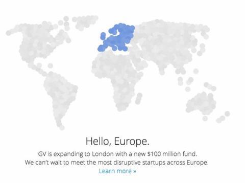 Google Ventures llega a Europa
