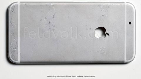 iPhone 6: se filtran las últimas fotos de su carcasa