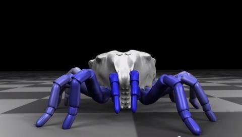 Una araña trigonotárbida de hace 410 millones de años vuelve a la vida en 3D a través de sus fósiles, gracias al software gratuito de diseño en 3D, Blender (vídeo).