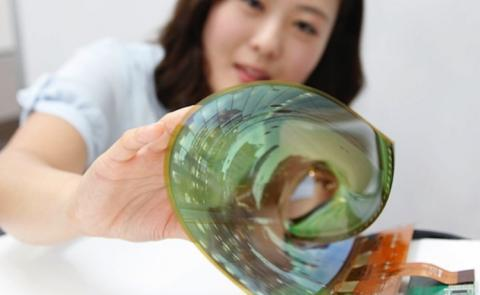 lg display flexible