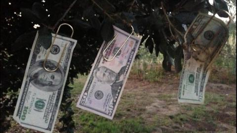 Millonario de @HiddenCash esconde 14 sobres con dinero en el castillo de Gibralfaro, en Málaga.